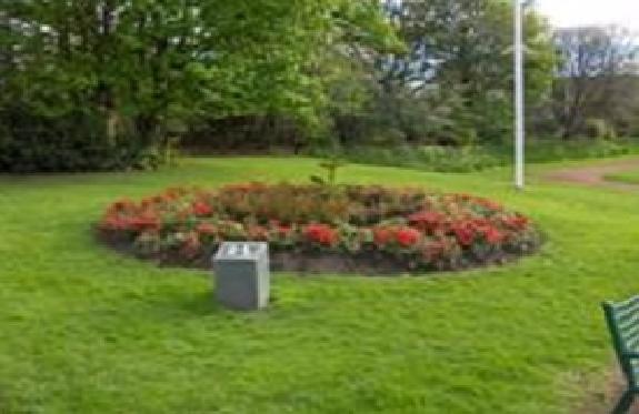 Centenary Memorial Flower Bed